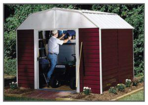 מחסני גינה עם גג משופע