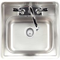 אביזר למטבח גינה: כיור עם ברז Sink with Faucet, חברת BullBBQ