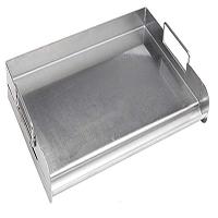 אביזר למטבח גינה: פלנצ'ה מקצועית Stainless Pro Grill Griddle out, חברת BullBBQ