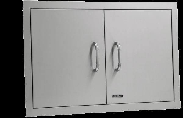 אביזר למטבח גינה: דלת כפולה Double Door, חברת BullBBQ