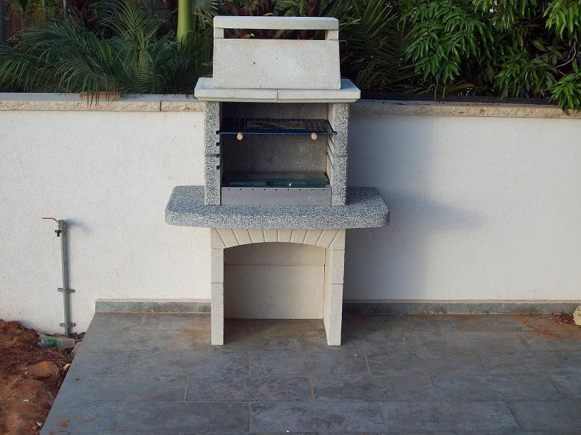 התקנת גריל בנוי איכותי מאיטליה: דגם גיזה, בכפר בן נון