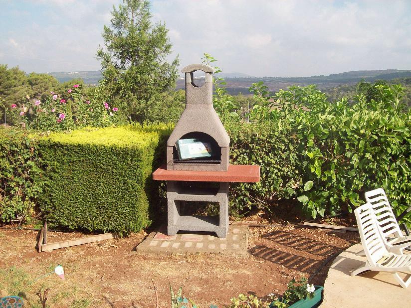 התקנת גריל בנוי איכותי מאיטליה: דגם קיימן, בגבעת אבני