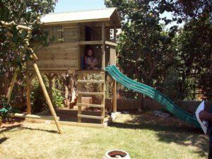 התקנת בית עץ גבוה לילדים: דגם וויסלר פארק Wistler Park, בנס ציונה