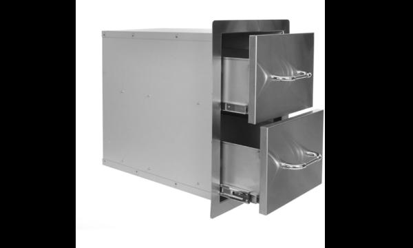 אביזר למטבח גינה: 2 מגירות Double Drawer, חברת BullBBQ