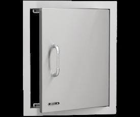 אביזר למטבח גינה: דלת אנכית, פתיחה לימין Vertical Access Door, חברת BullBBQ