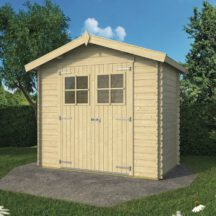 מחסן עץ, דגם: מאלווה Malva מידה 2.60X 1.50 מטר