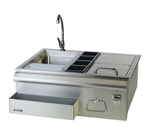 """אביזר למטבח גינה: מרכז בר כ-76.2 ס""""מ ''30 Bar Caddy, חברת BullBBQ"""
