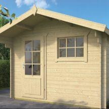 מחסן עץ, דגם: ביורן Bjorn מידה (3.00X (2.60+80 מטר