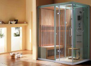 טרנד לוהט באמבטיה: מקלחון סאונה-ג'קוזי