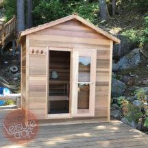 סאונת בקתה - Cabin Sauna Dundalk - דגמים