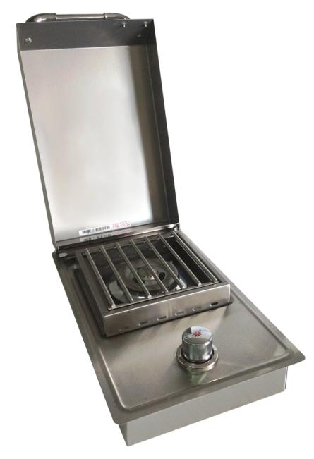 אביזר למטבח גינה: כירת גז צד יחידה Single Sideburner, חברת BullBbq