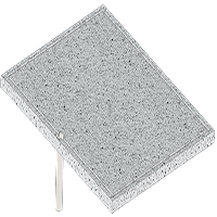 אביזר צלייה לגריל: אבן וולקנו Volcanic Rock Griddle/Pizza Stone, חברת BULLBBQ